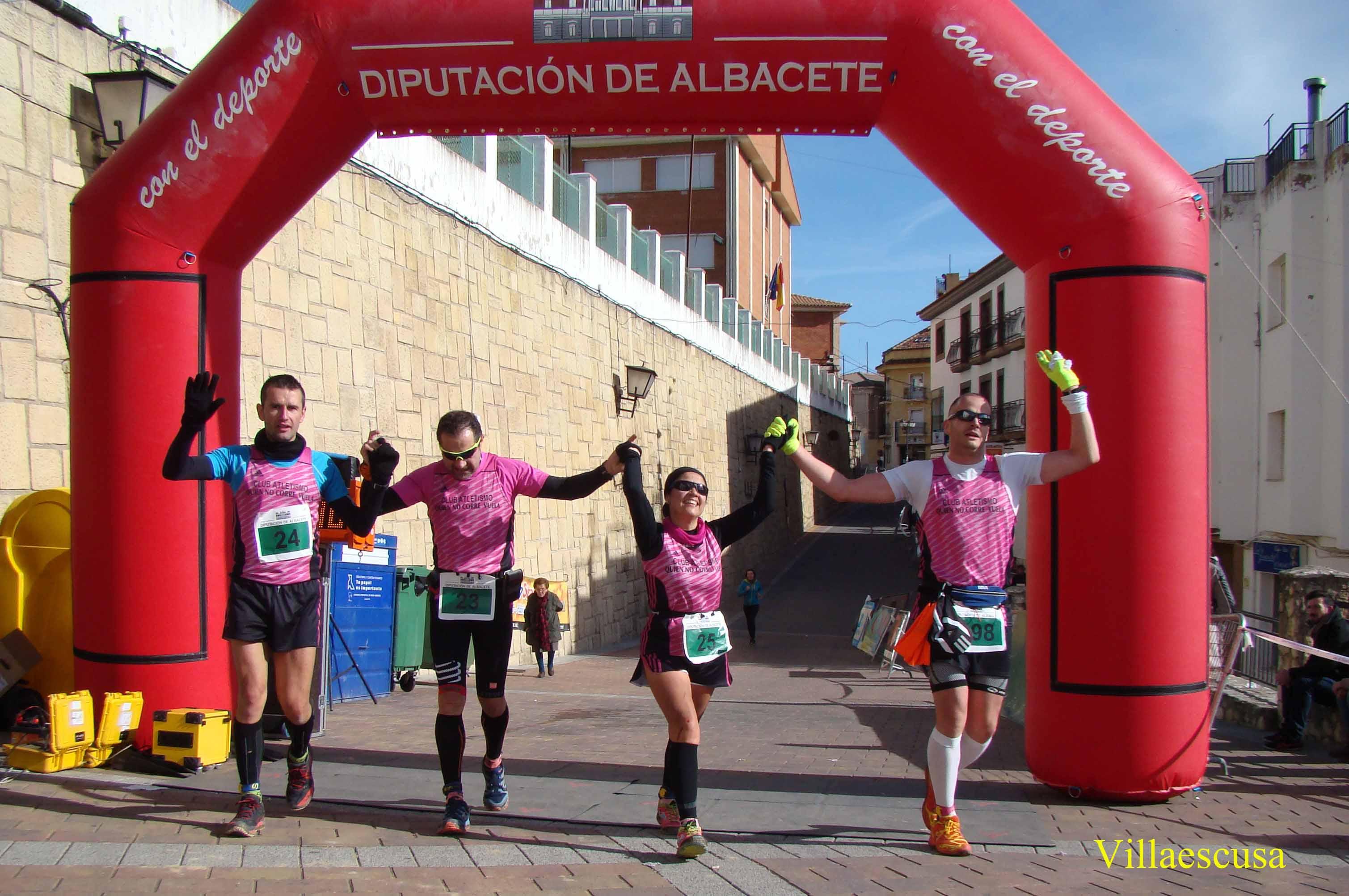 Atletas populares en la Carrera Popular de Yeste (Foto: Paco Villaescusa)