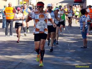 Atletas populares en la III Carrera Popular de Higueruela (Foto: Paco Villaescusa)