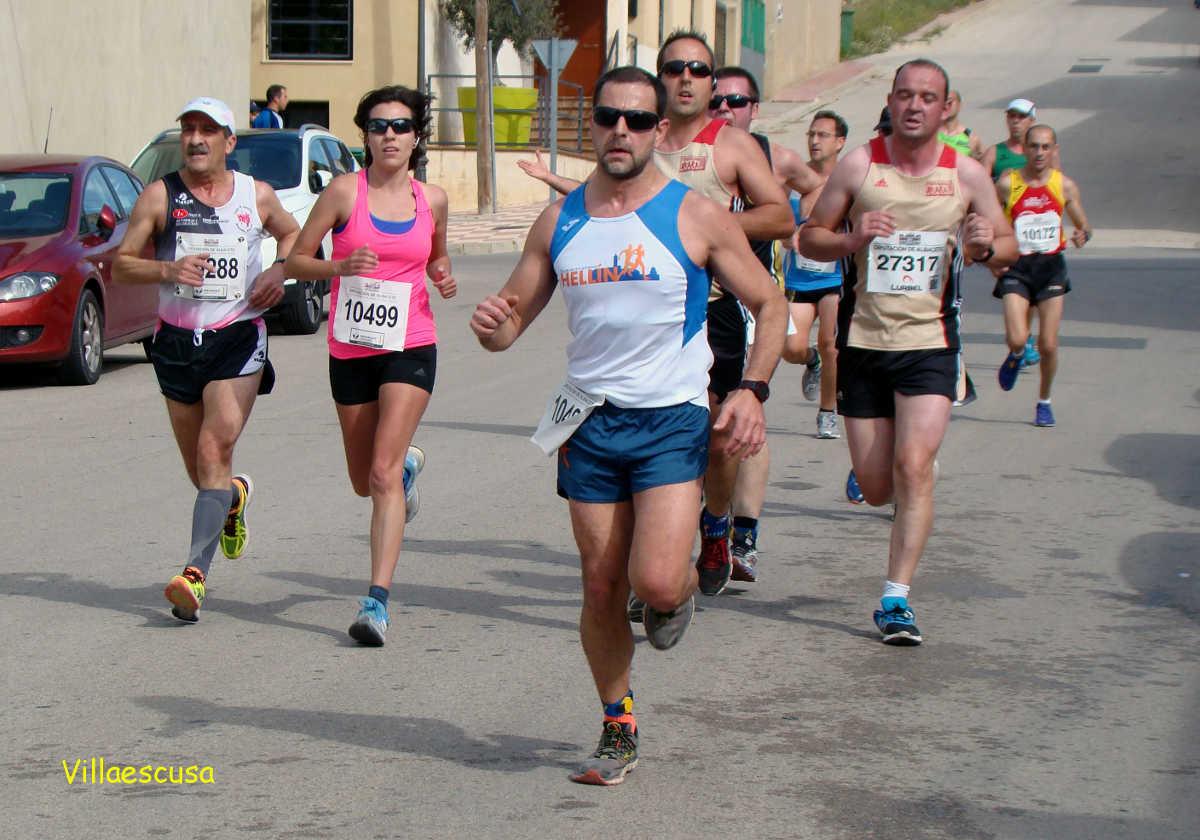 Atletas populares en la IV Carrera Popular de Higueruela (Foto: Paco Villaescusa)