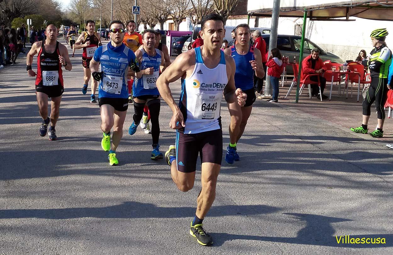 Atletas populares en la VI Carrera Popular de Minaya (Foto: Paco Villaescusa)