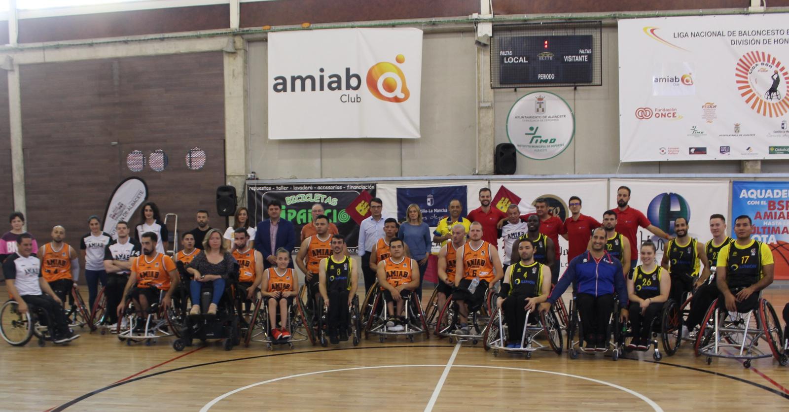 BSR Amiab Albacete - CD Ilunion Trofeo Ciudad de Albacete