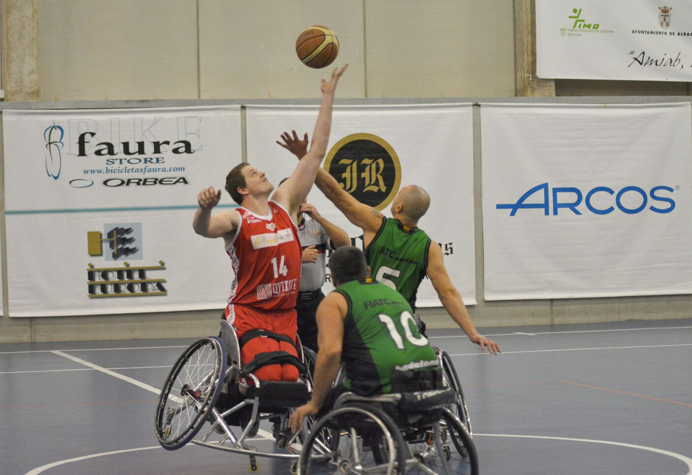 BSR Amiab Albacete - Joventut