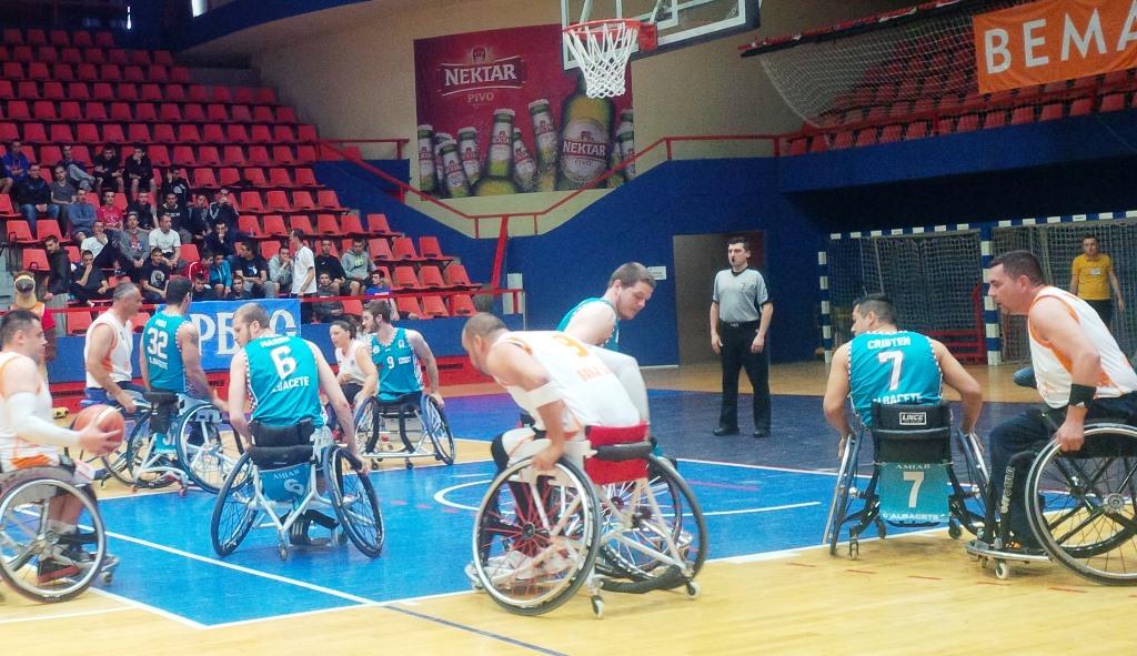 BSR Amiab Albacete en la Challenge Cup de Bosnia
