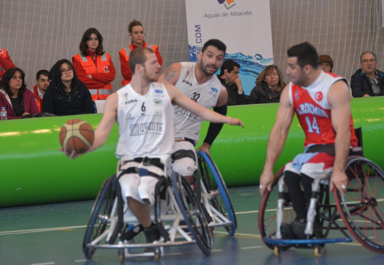 BSR Amiab Albacete en la Challenge Cup