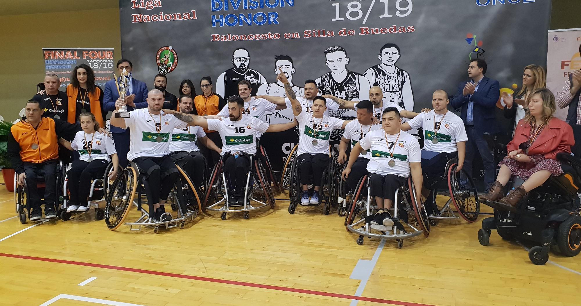 BSR Amiab Albacete, subcampeón de Liga 2019