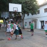 Baloncesto callejero en La Roda