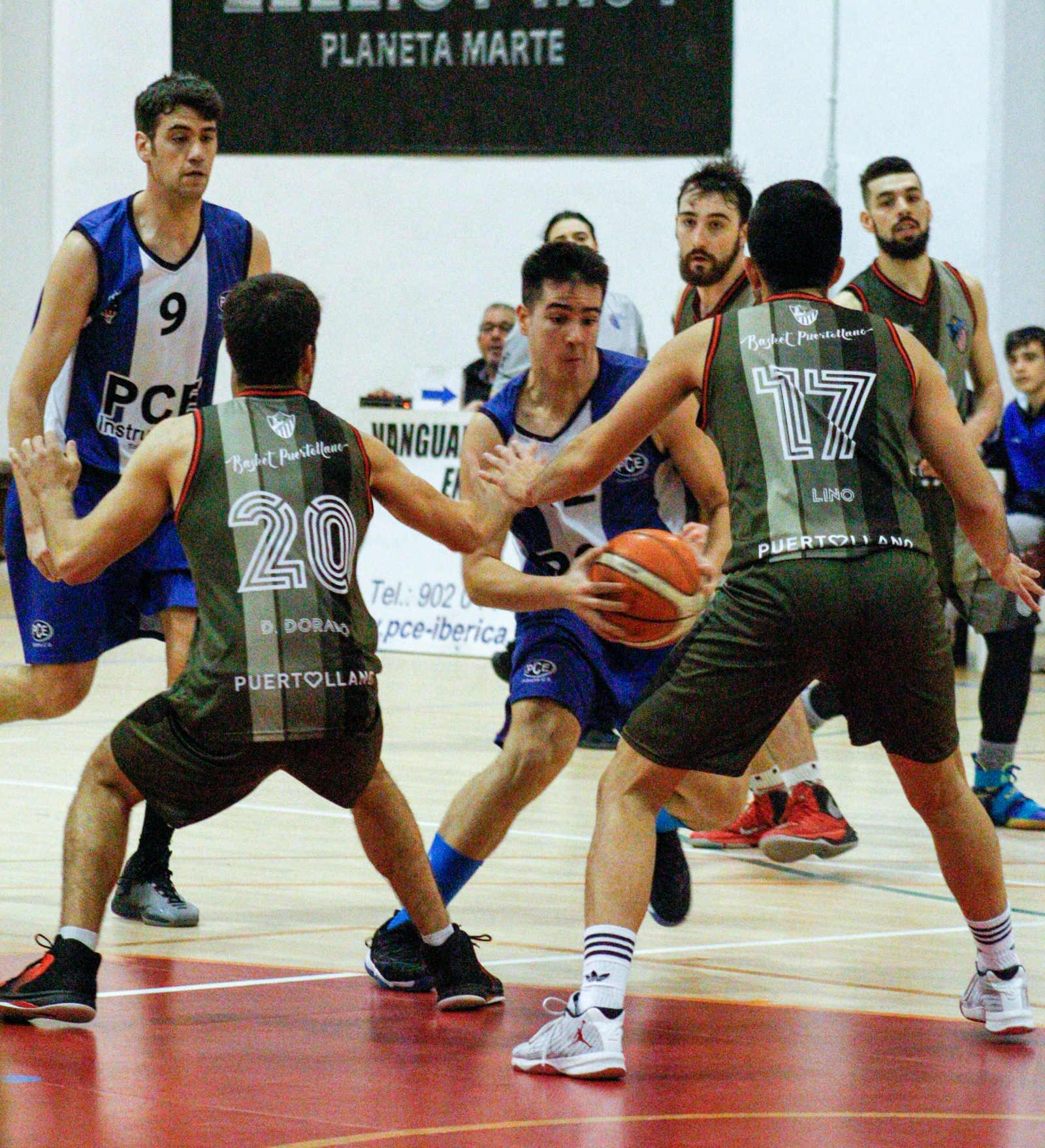 Basket Atlético Puertollano - PCE Instruments Tobarra