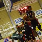 Basket Globalcaja Quintanar - Albacete Basket (Foto: Juan Luis Serrano)