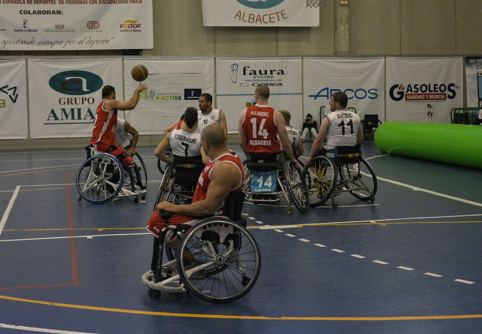 Beit Halochem Jesusalem - BSR Amiab Albacete Euroleague 3