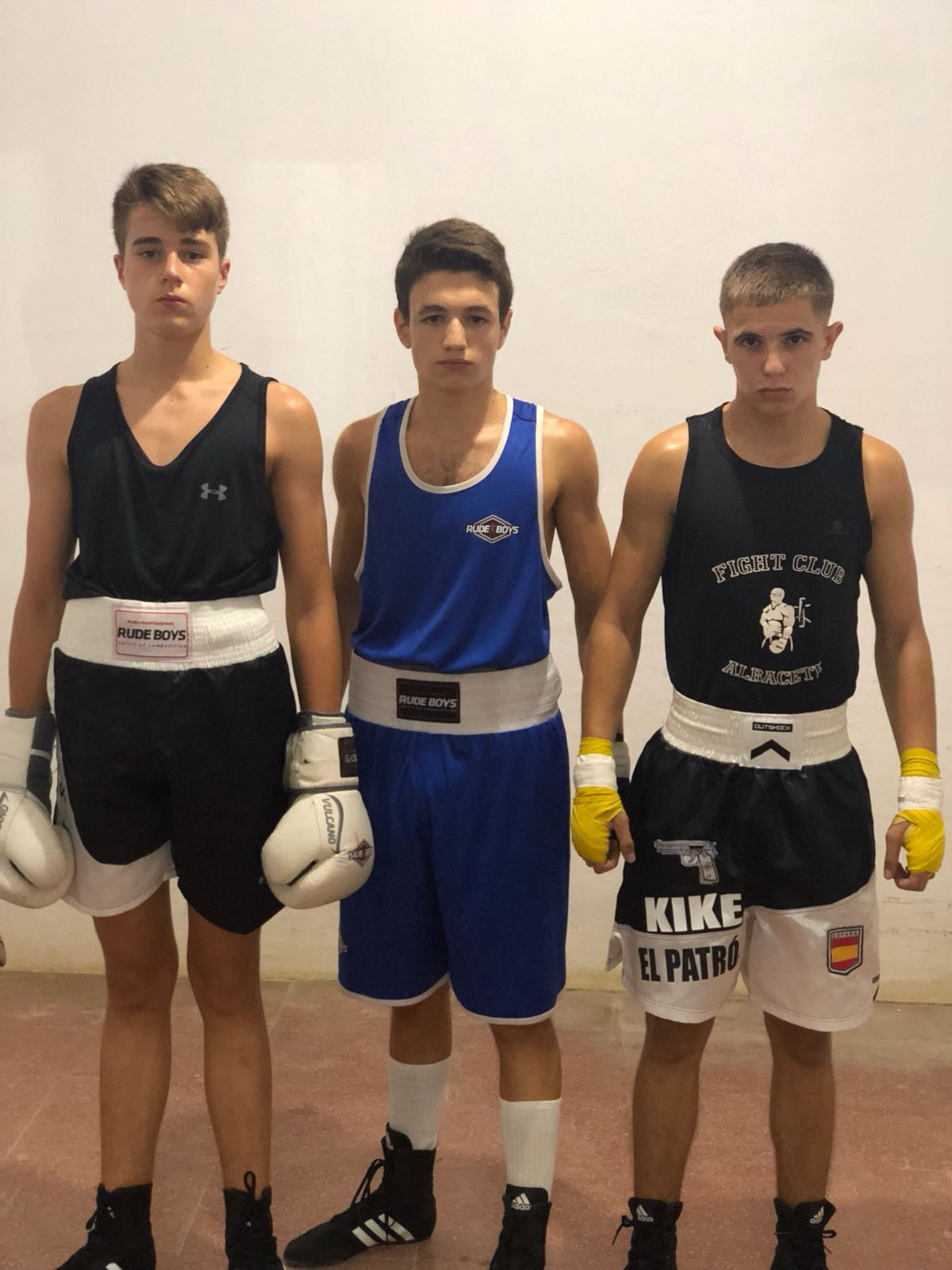 Boxeadores del Fight Club Albacete
