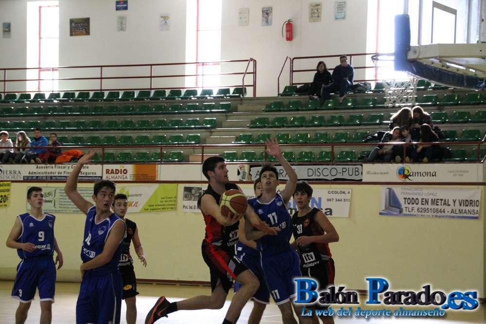 CB Almansa - Basket Quintanar Liga Junior Masculino Especial (Foto: www.balonparado.es)