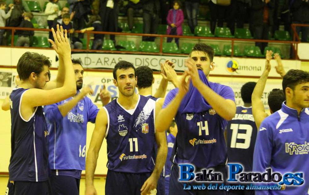CB Almansa - Lujisa Guadalajara Basket (Foto: www.balonparado.es)