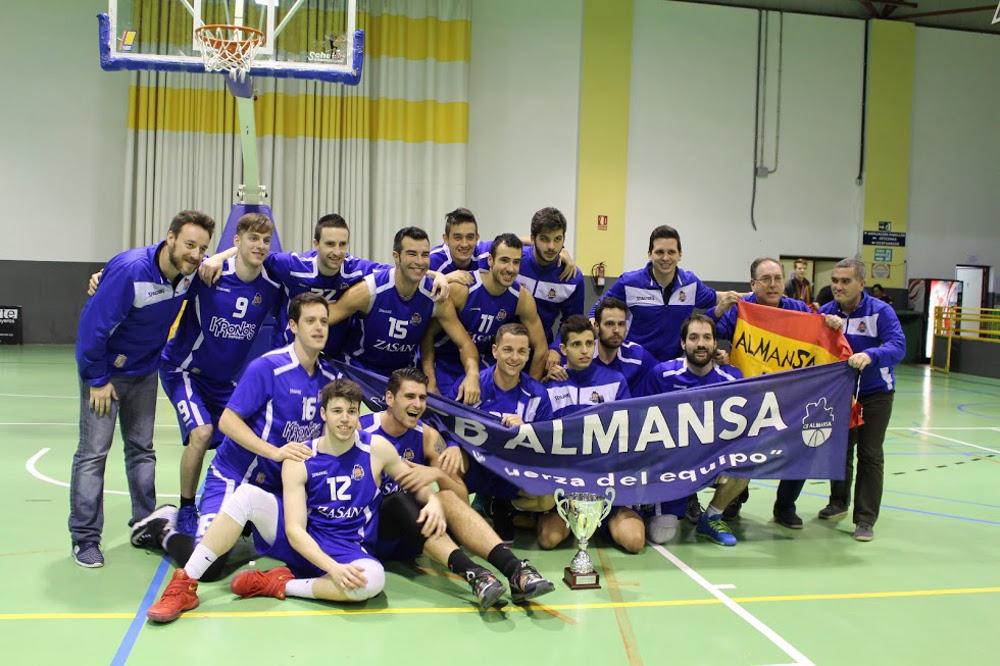CB Almansa, campeón de la Copa de Primera Nacional