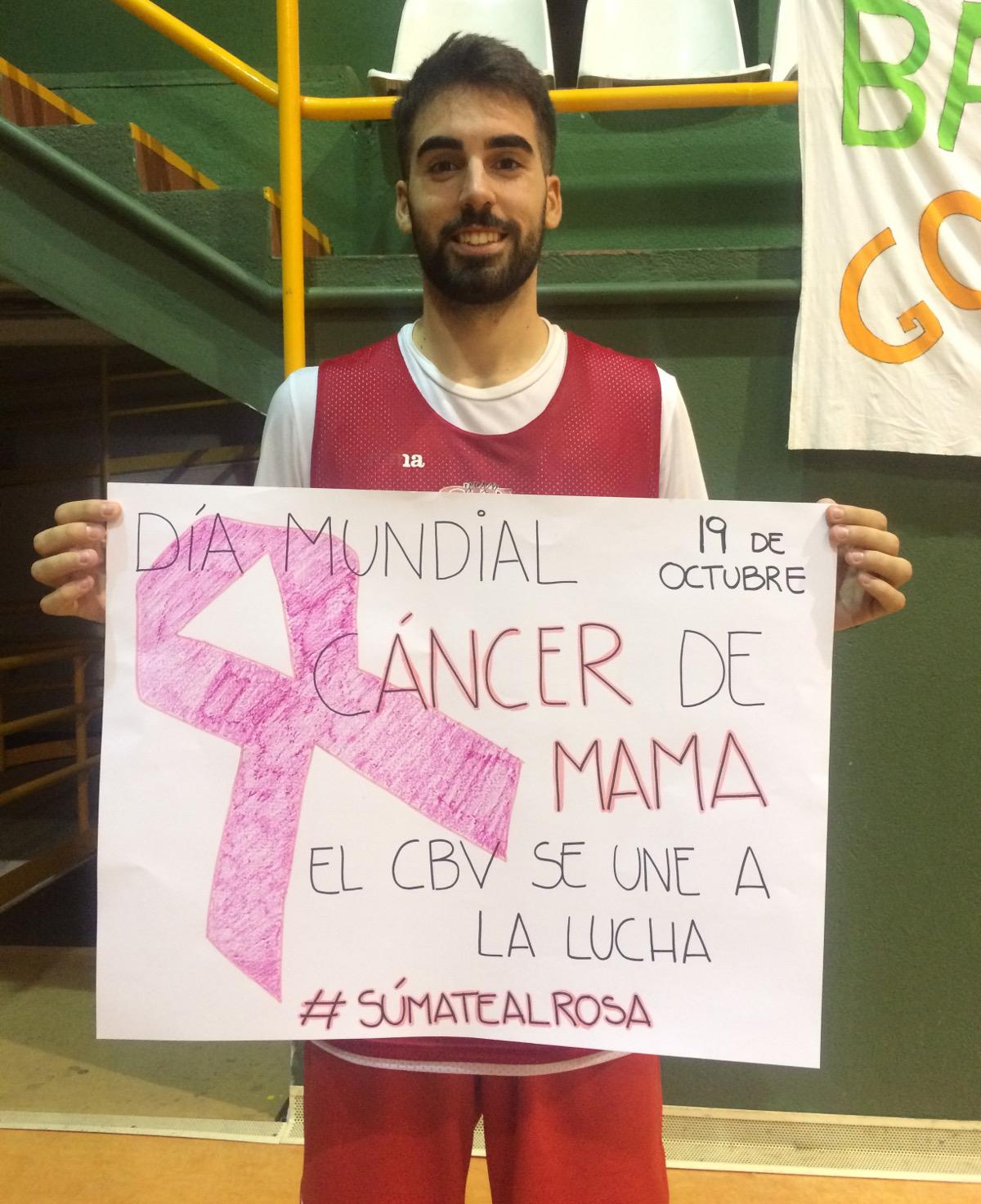 CB Villarrobledo se une a la lucha contra el cáncer de mama