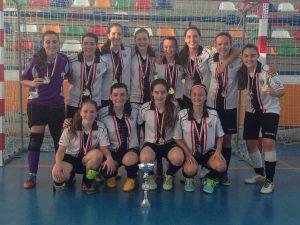 CD Al-Basit Féminas cadete de fútbol sala