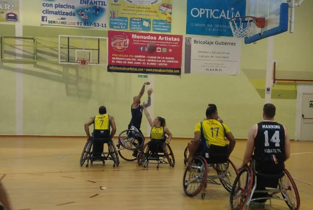 CD Ilunion - BSR Amiab Albacete
