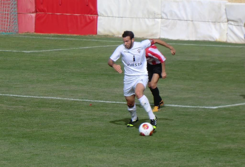 Alba B - Atlético Ibañés (Foto: Pilar García)