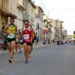 Cabeza de carrera en la VIII Carrera Popular de El Salobral (Foto: Paco Villaescusa)
