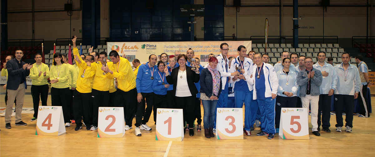 Campeonato Regional de Baloncesto organizado por Fecam