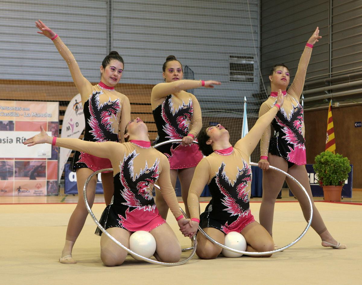 La capacidad y la superaci n sobresalen en el nacional de for Ejercicios de gimnasia