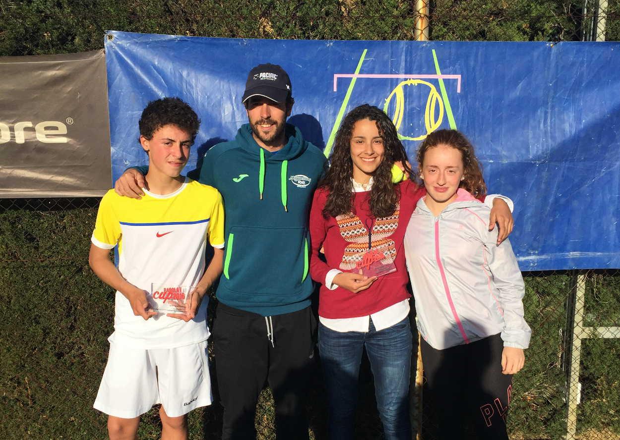 Campeones infantiles de tenis