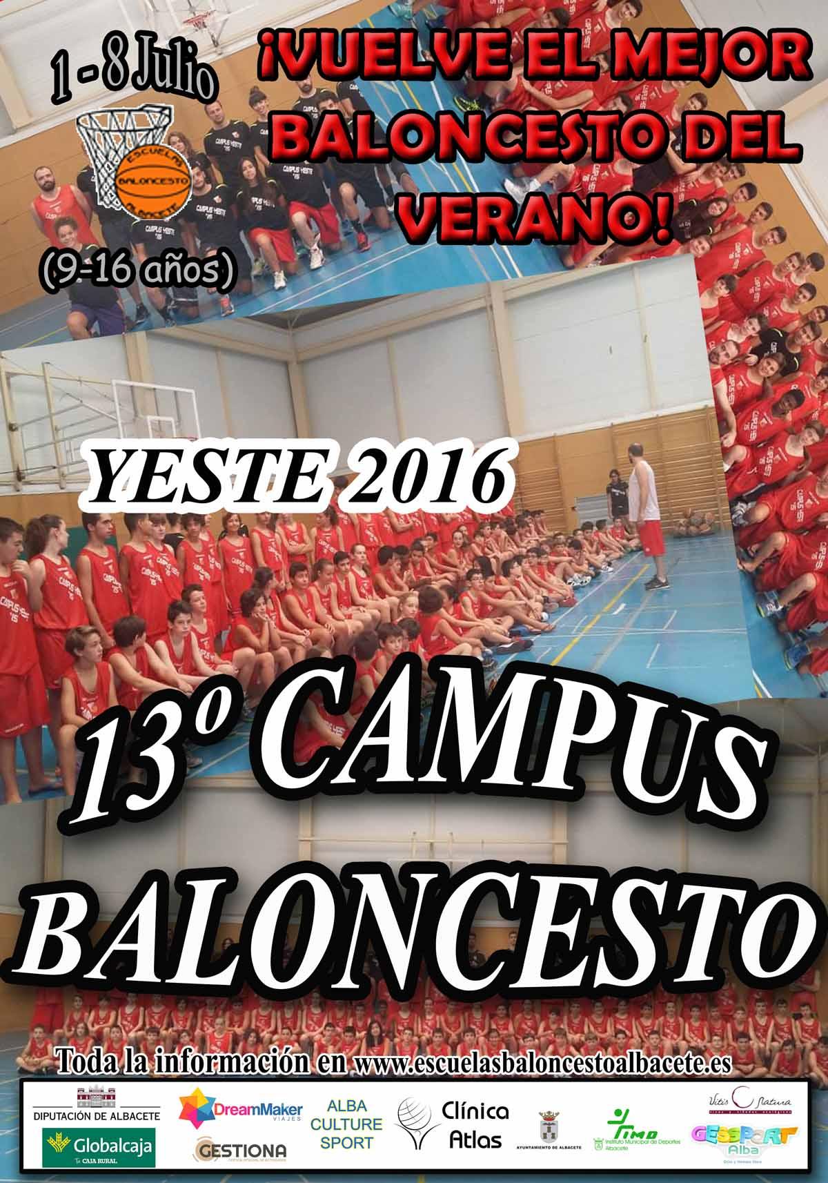 Campus de Baloncesto de Verano del CB EBA