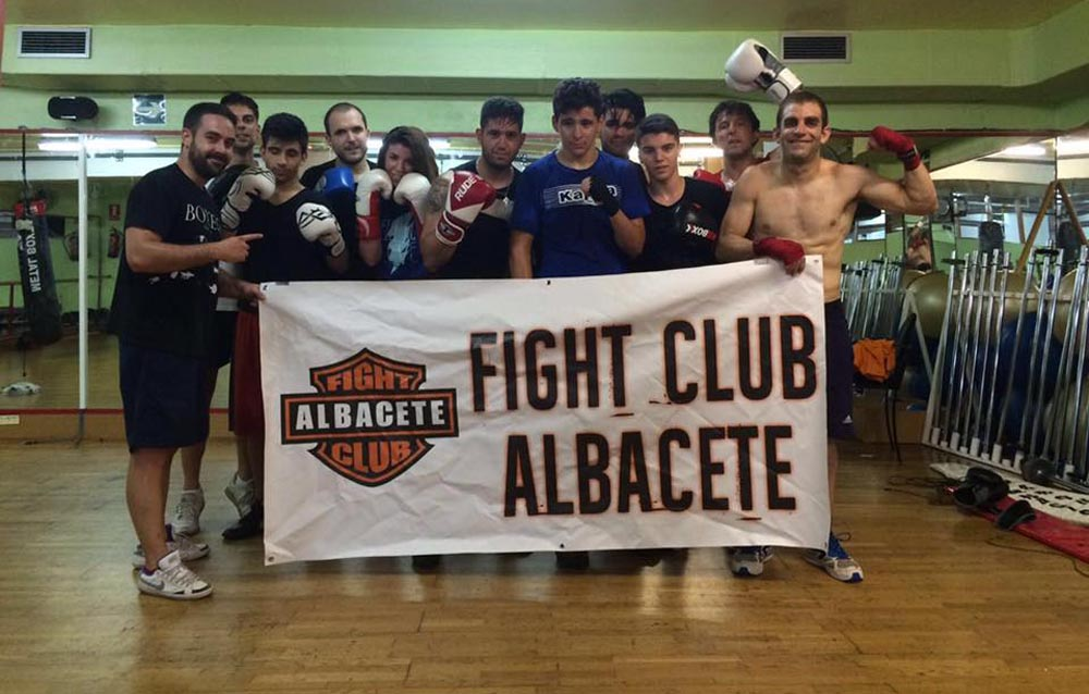Carlos Martínez en el Fight Club Albacete