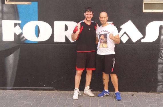 Carlos Martínez y Sergio Castillo, del Gimnasio Formas