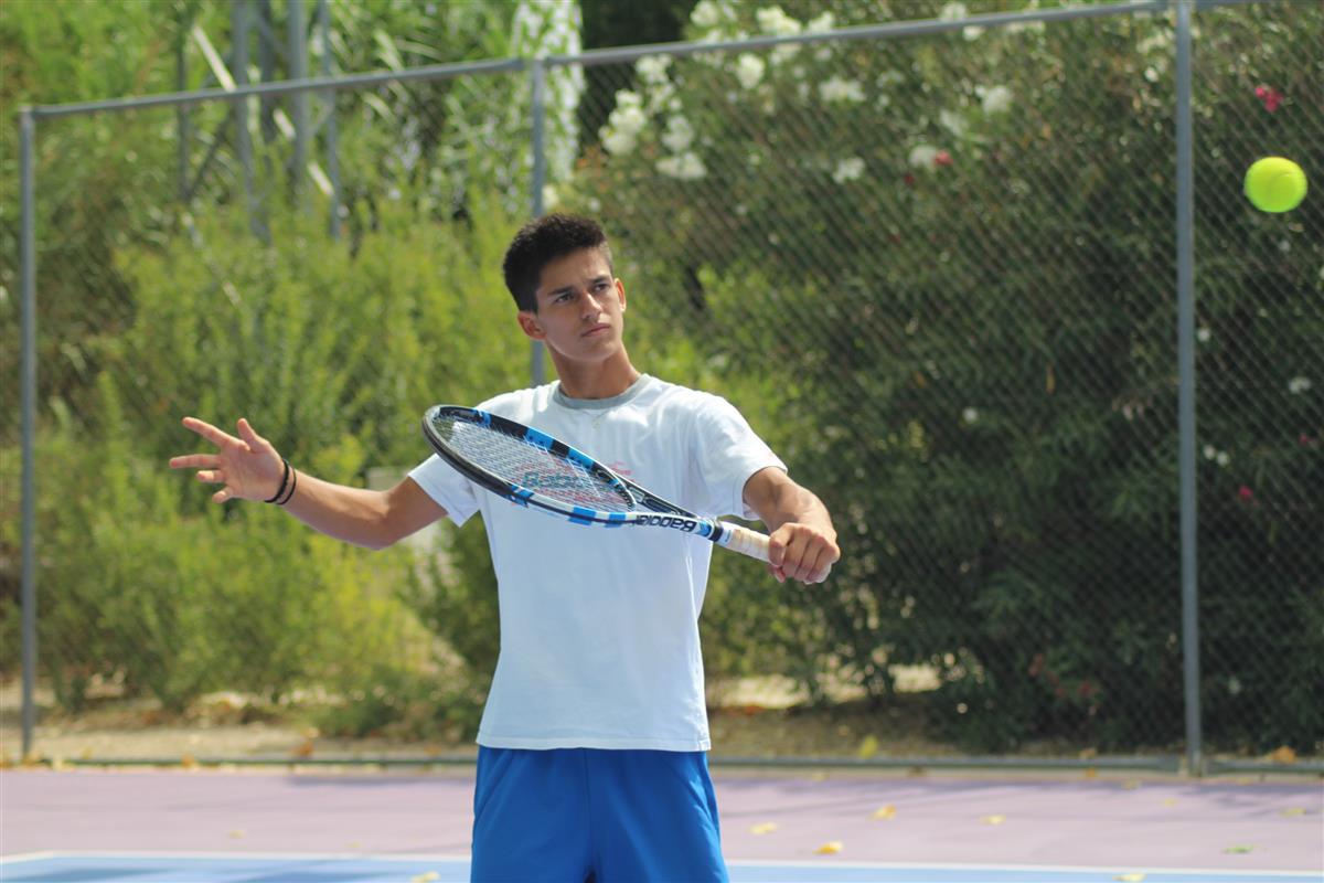 Carlos Sánchez Jover, tenista albaceteño
