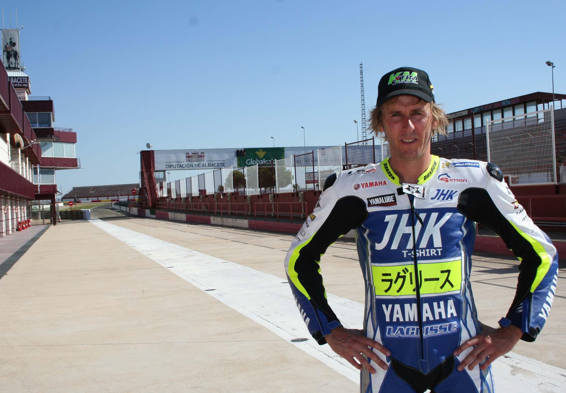 Carmelo Morales en Albacete (Foto: Circuito)