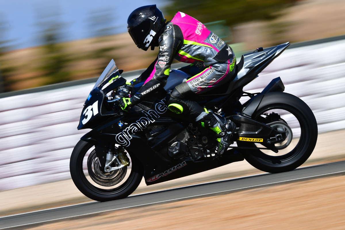 Carmelo Morales en el Circuito de Albacete (Foto: Fernando Sotoca)