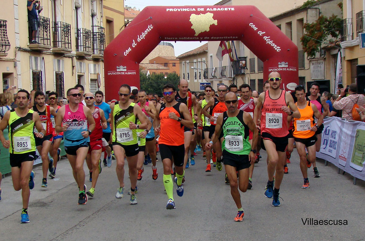 Carrera Popular de Chinchilla de Montearagón 2017