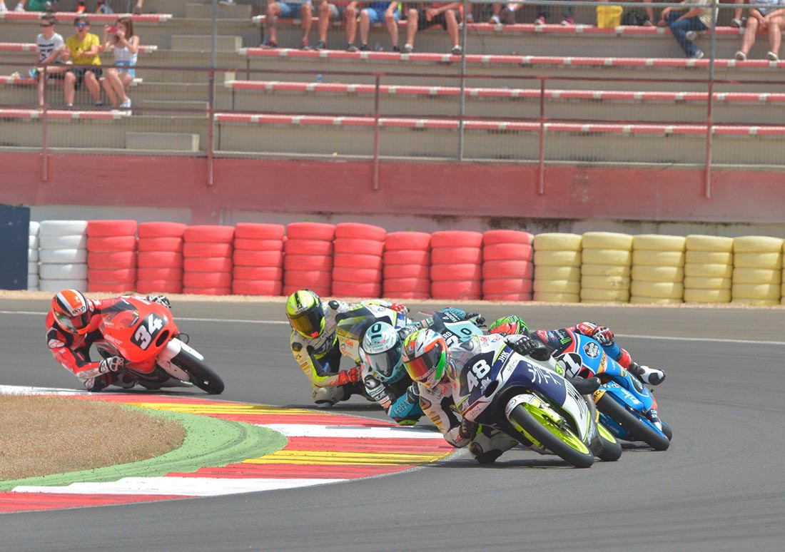 Carrera de Moto3 del FIM CEV Repsol en Albacete (Foto: Photomanolo.com)