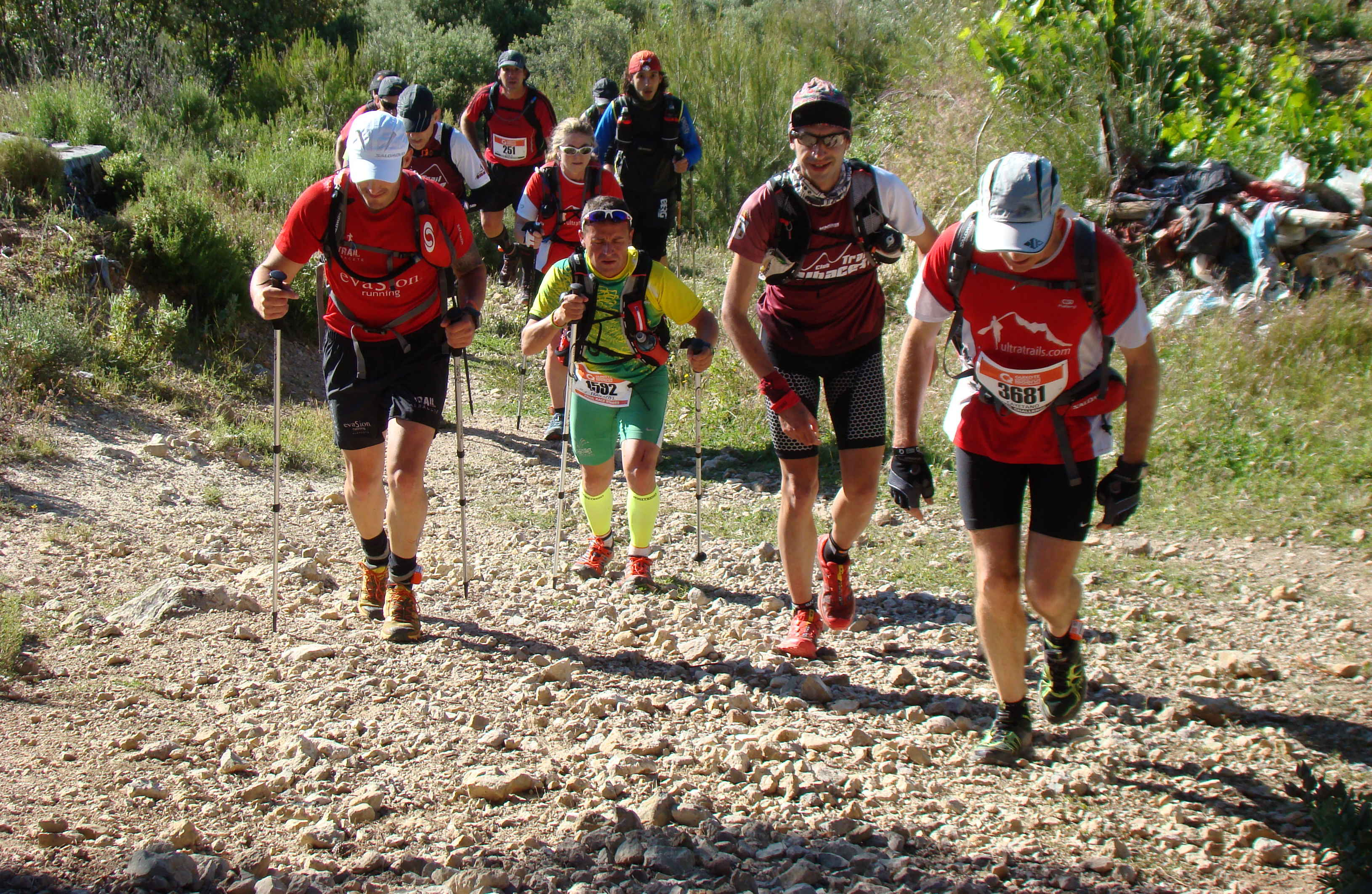 Carrera de Trail