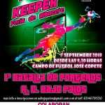 Cartel 1×1 Keeper Feria de Albacete