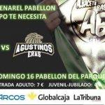 Cartel Albacete Basket - Agustinos Leclerc