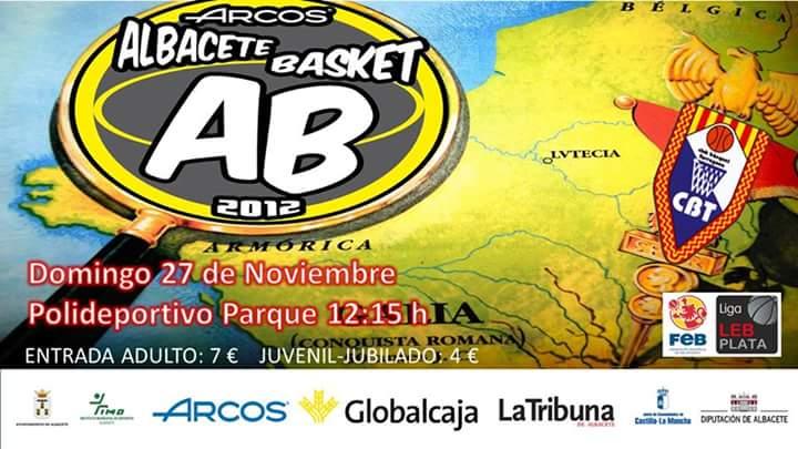 Cartel Albacete Basket - CB Tarragona