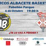 Cartel Albacete Basket - CB Vic