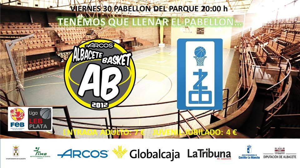 Cartel Albacete Basket - CB Zamora