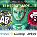Cartel Albacete Basket - CBC Valladolid