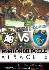 Cartel Albacete Basket - Estudiantes