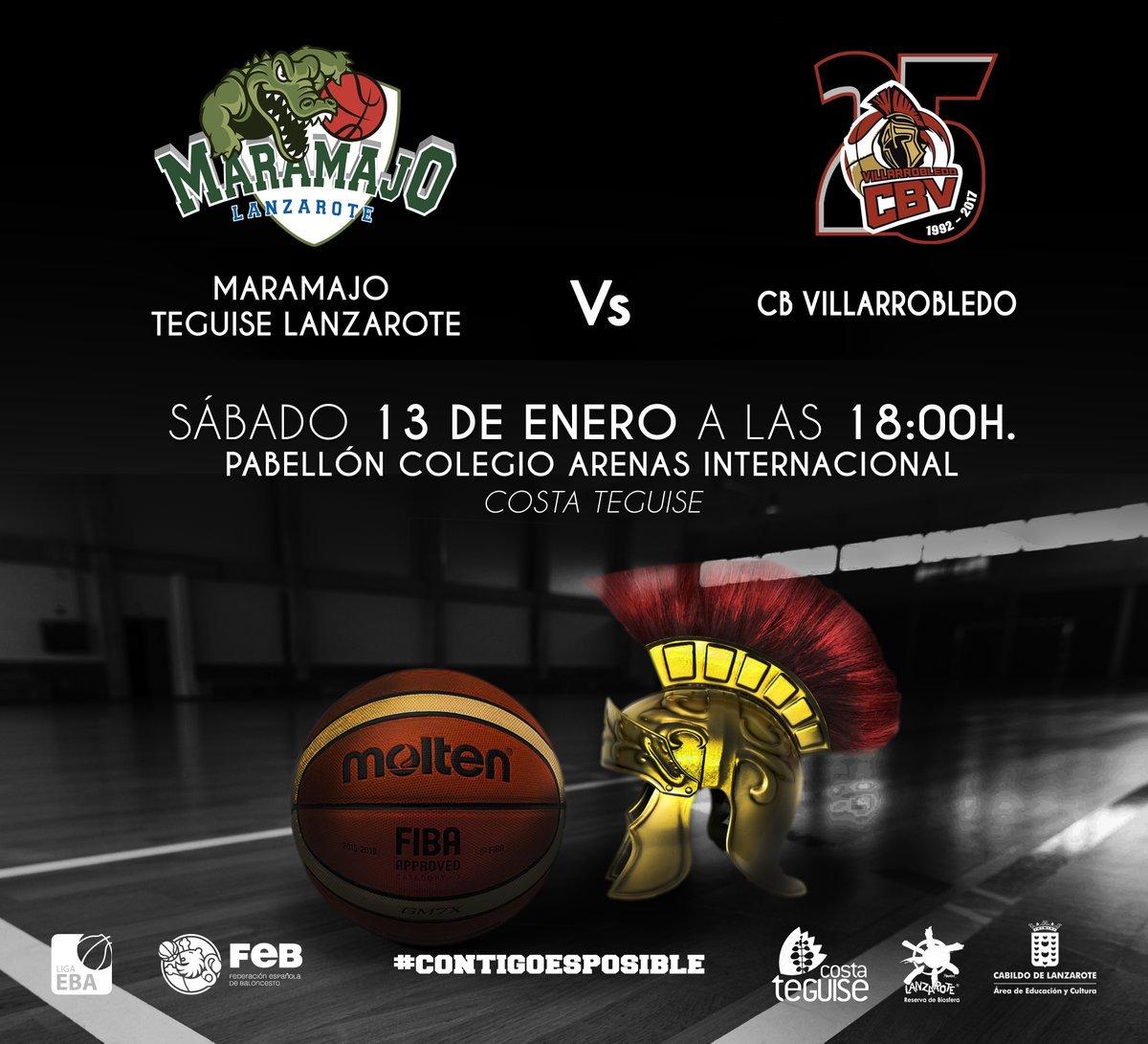 Cartel CB Maramajo - CB Villarrobledo