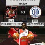 Cartel CB Villarrobledo - CB Alcobendas