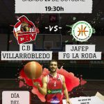 Cartel CB Villarrobledo - Jafep Fundación Globalcaja La Roda