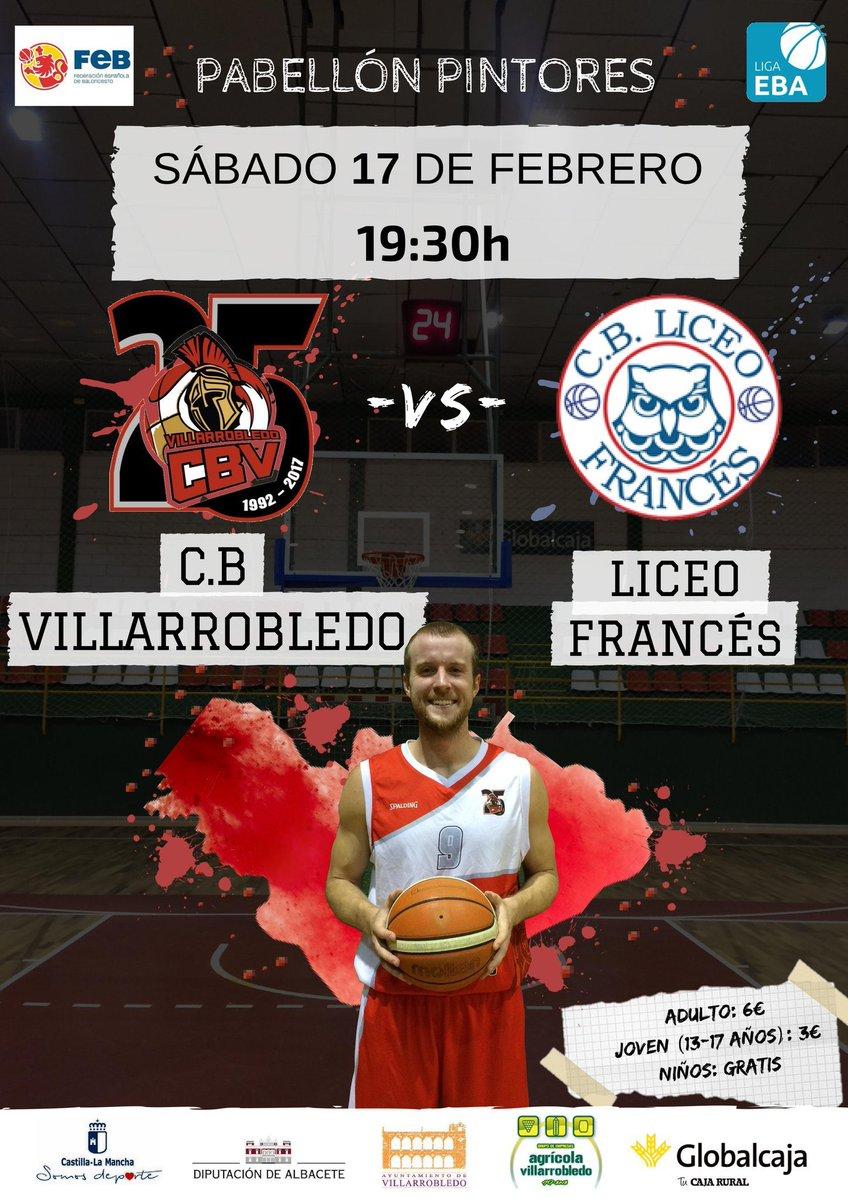 Cartel CB Villarrobledo - Liceo Francés