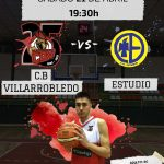 Cartel CB Villarrobledo vs CD Estudio