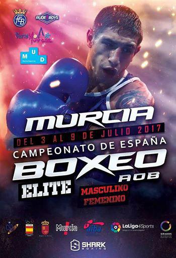 Cartel Campeonato España de Boxeo Elite