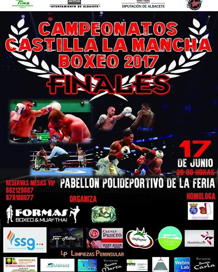 Cartel Campeonato de Boxeo