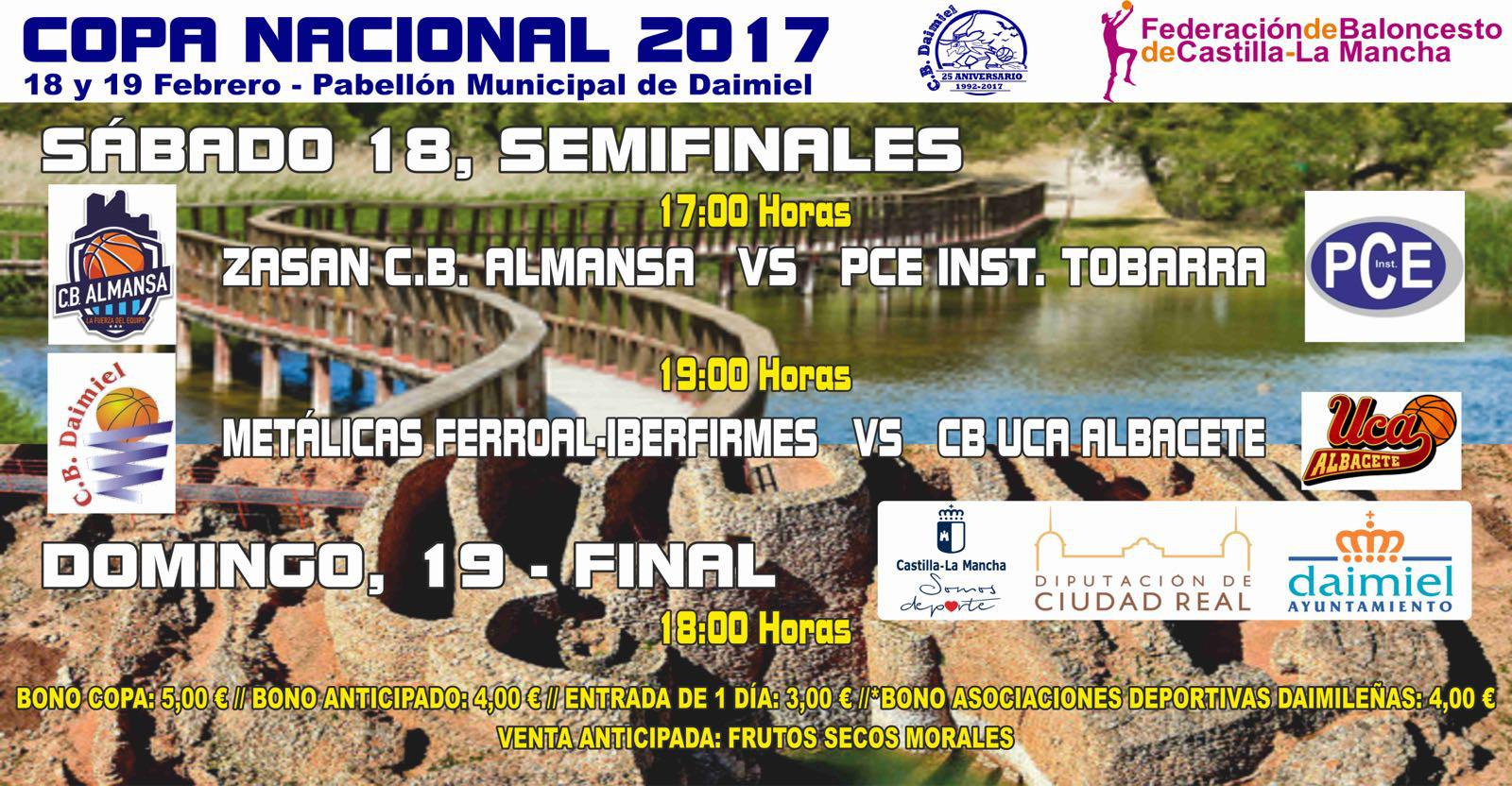 Cartel Copa Nacional de Baloncesto