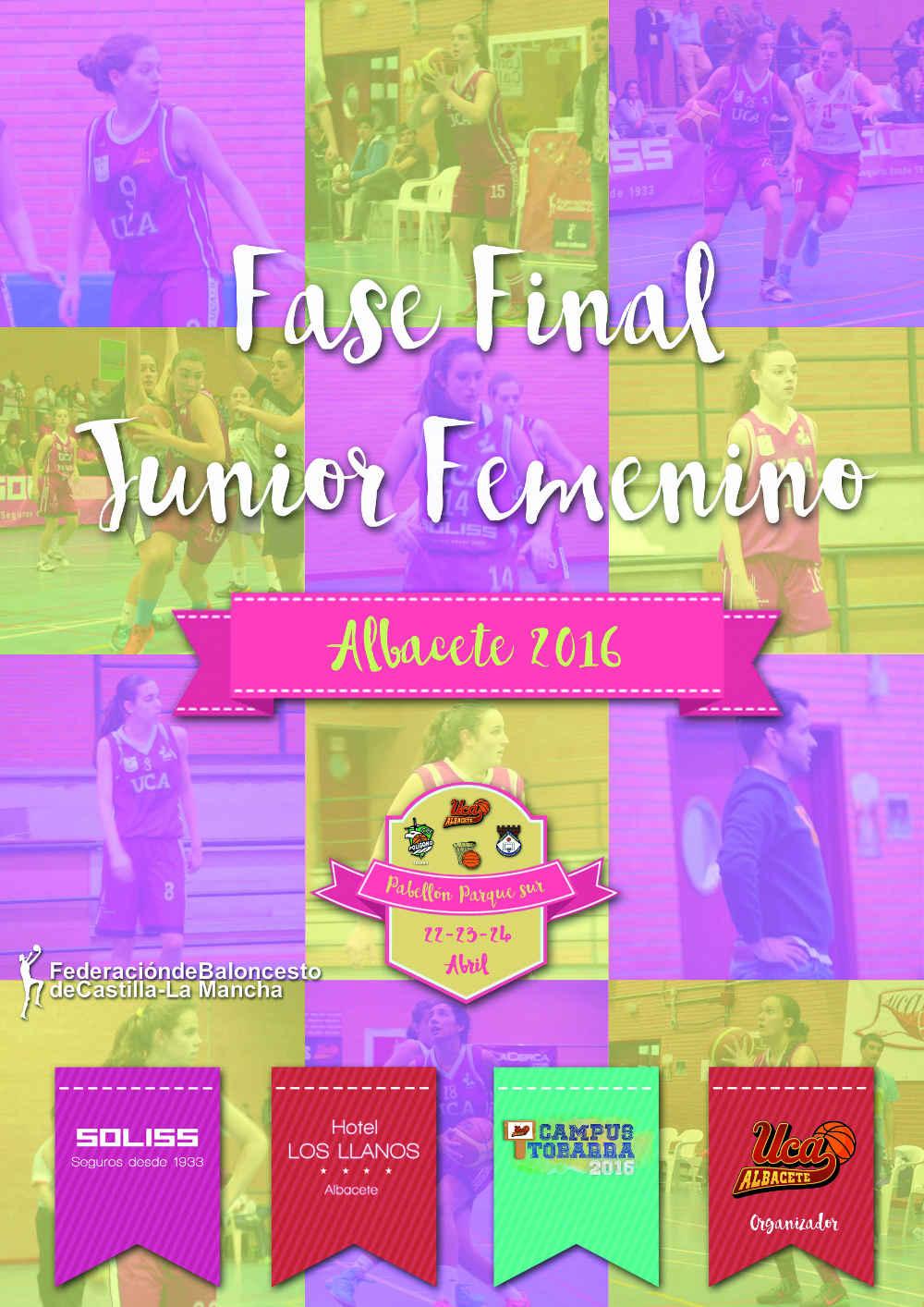 Cartel Fase Final Junior Femenina